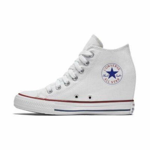 e83d0ba8e77d28 Converse Shoes - White converse wedges